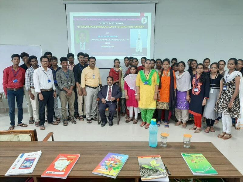 AITS, Kadapa Holds Guest Lecture on 'Indian Space Programme' for ECE Students